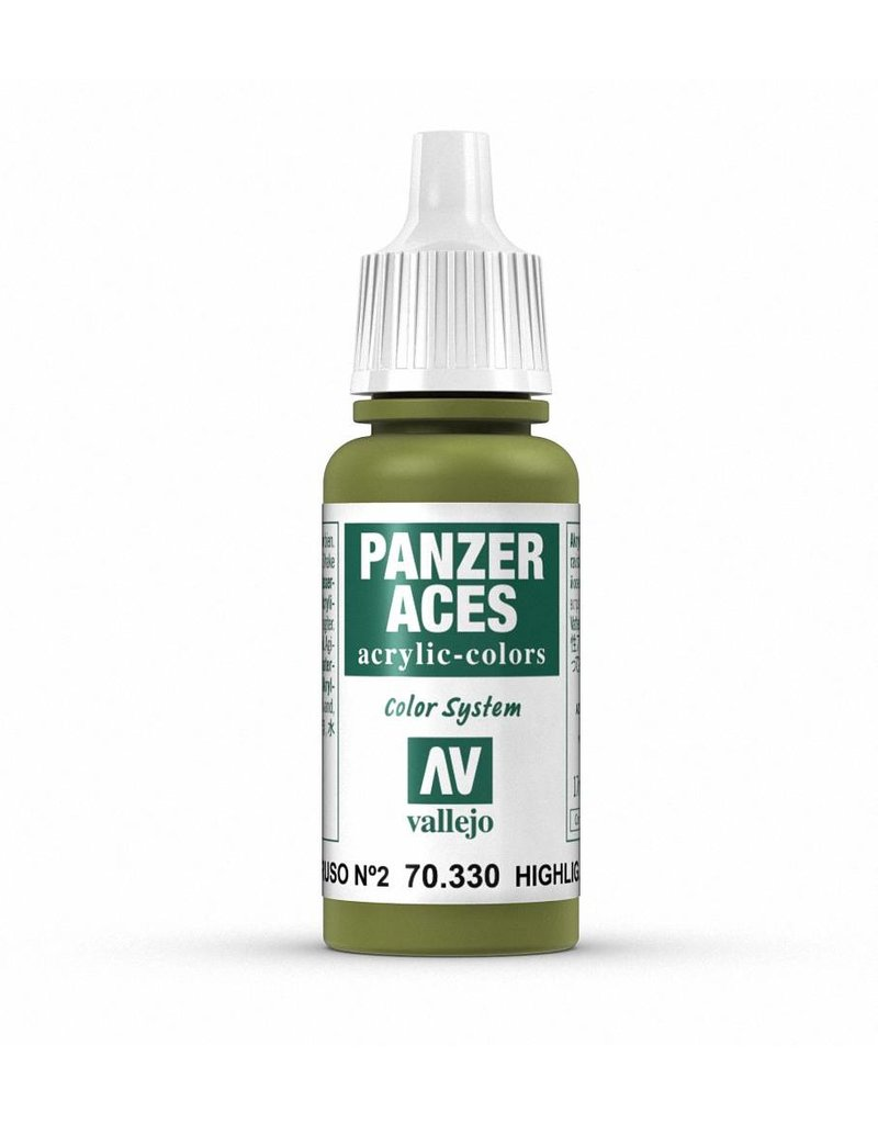 Vallejo Panzer Aces - Highlight Russian Tank Crew II 17ml
