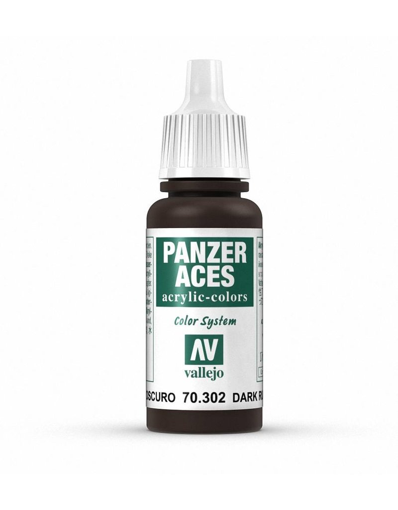 Vallejo Panzer Aces - Dark Rust 17ml