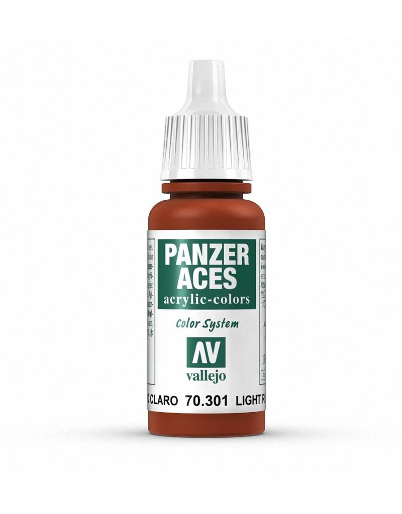 Vallejo Panzer Aces - Light Rust 17ml