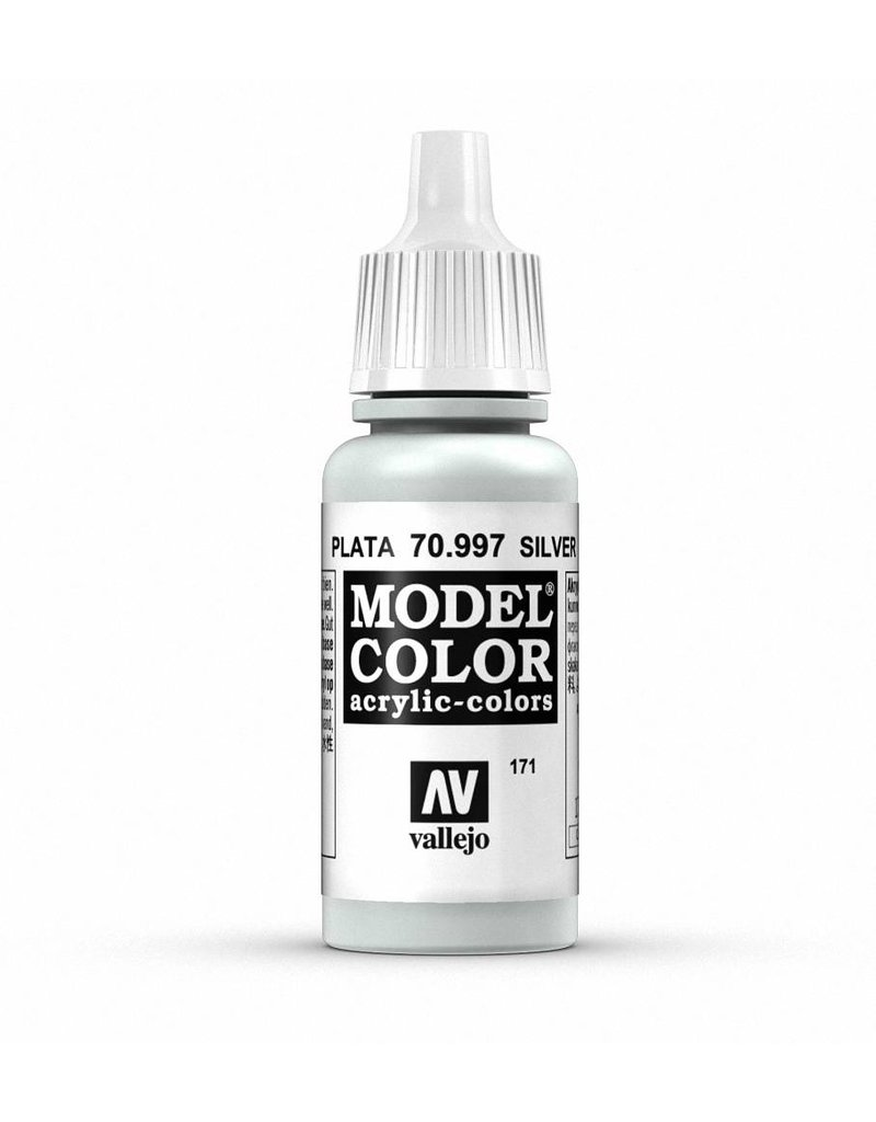 Vallejo Model Color - Metallic Silver 17ml