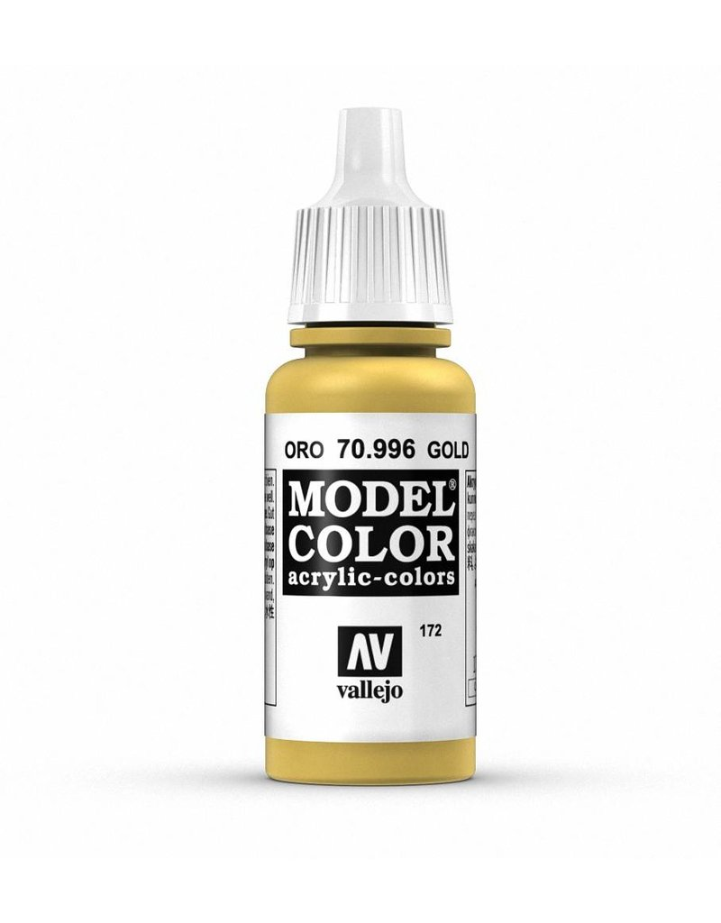Vallejo Model Color - Metallic Gold 17ml