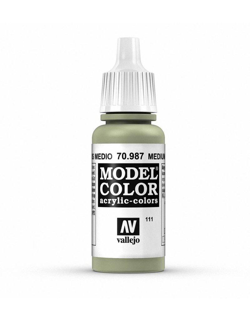 Vallejo Model Color - Medium Grey 17ml