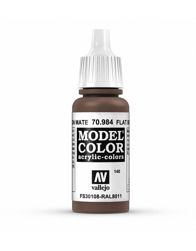 Vallejo Model Color - Flat Brown 17ml