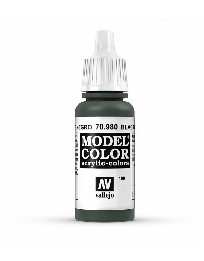 Vallejo Model Color - Black Green 17ml