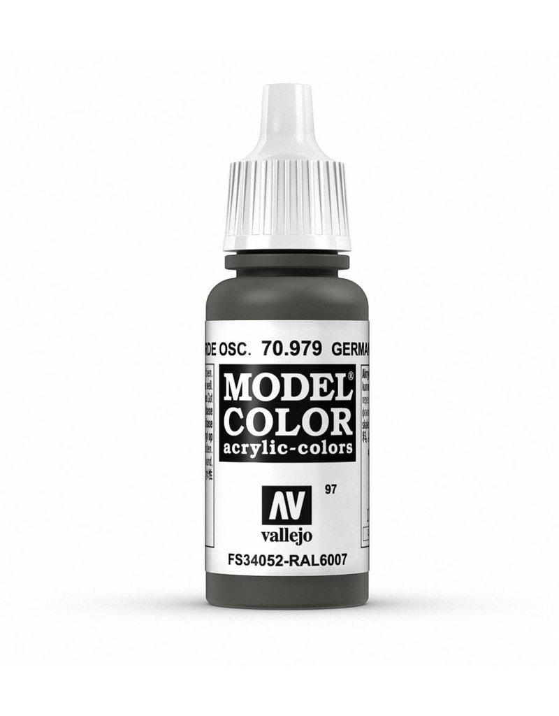 Vallejo Model Color - German Cam. Dark Green 17ml