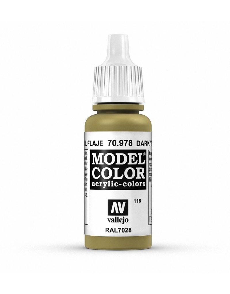 Vallejo Model Color - Dark Yellow 17ml