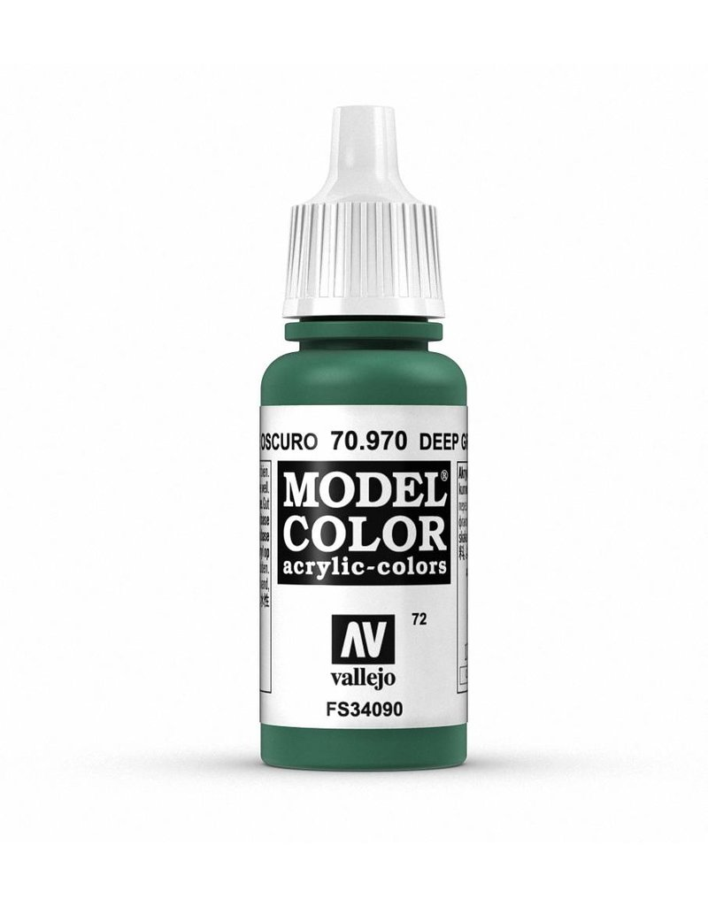 Vallejo Model Color - Deep Green 17ml
