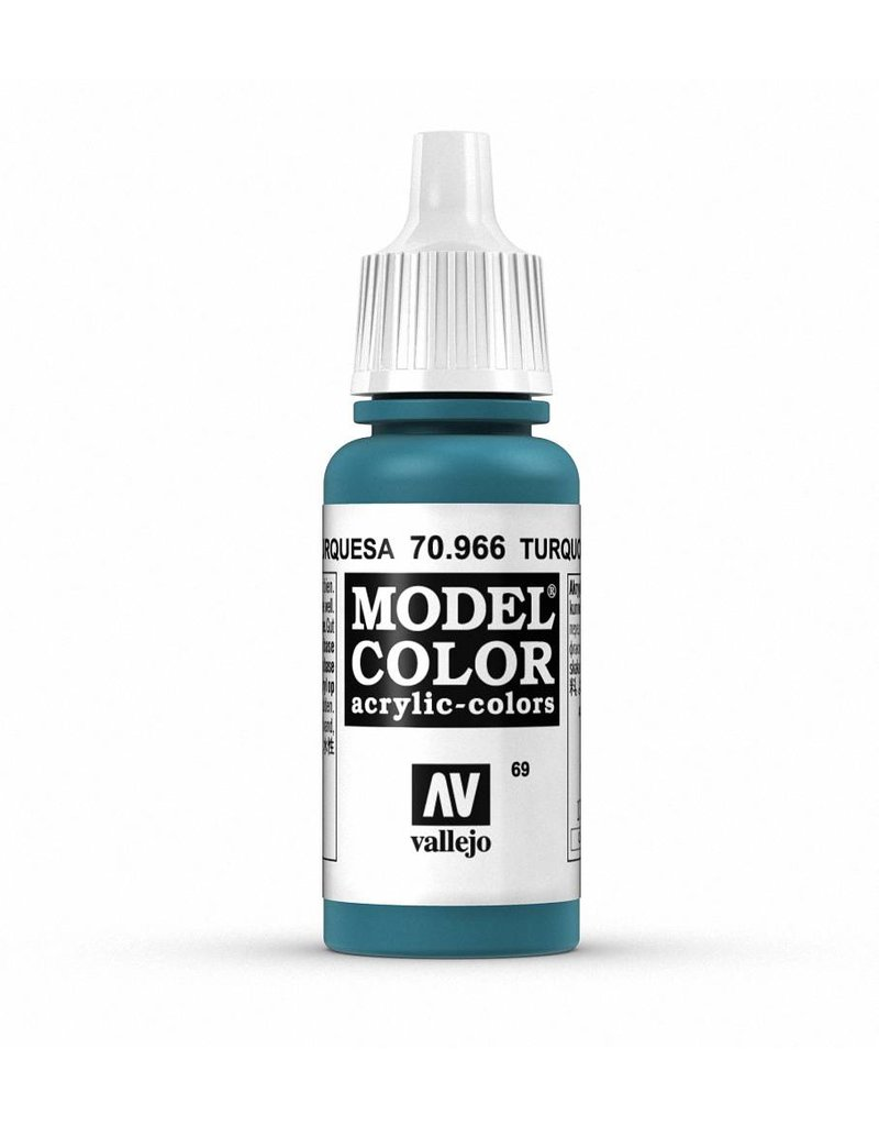 Vallejo Model Color - Turquoise 17ml