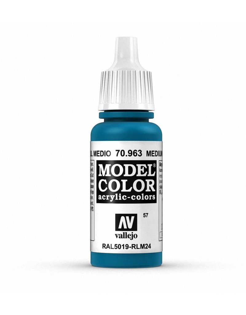 Vallejo Model Color - Medium Blue 17ml