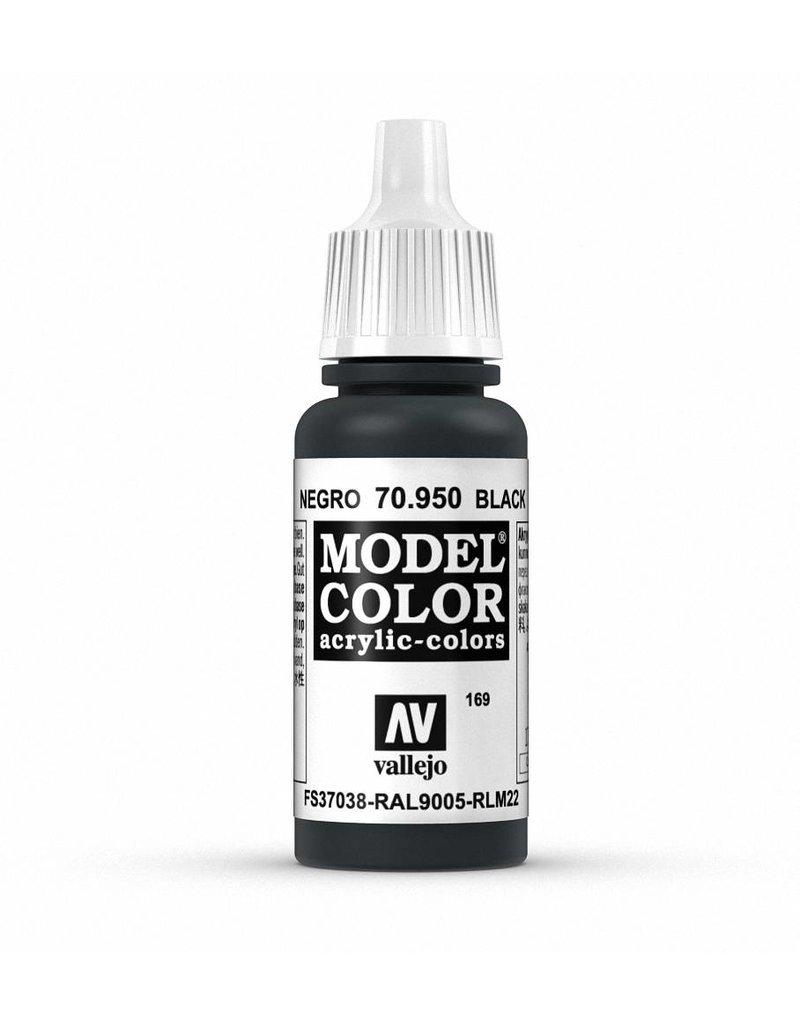 Vallejo Model Color - Black 17ml