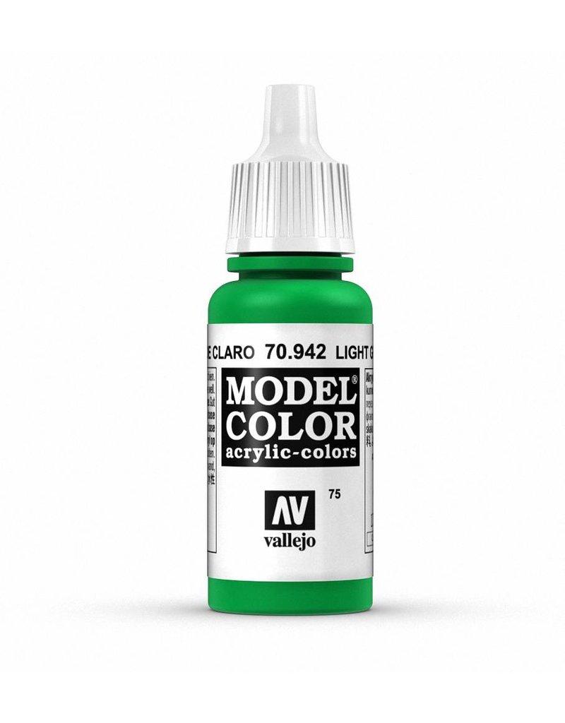 Vallejo Model Color - Light Green 17ml