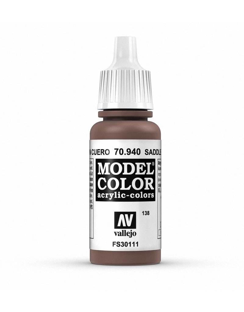 Vallejo Model Color - Saddle Brown 17ml