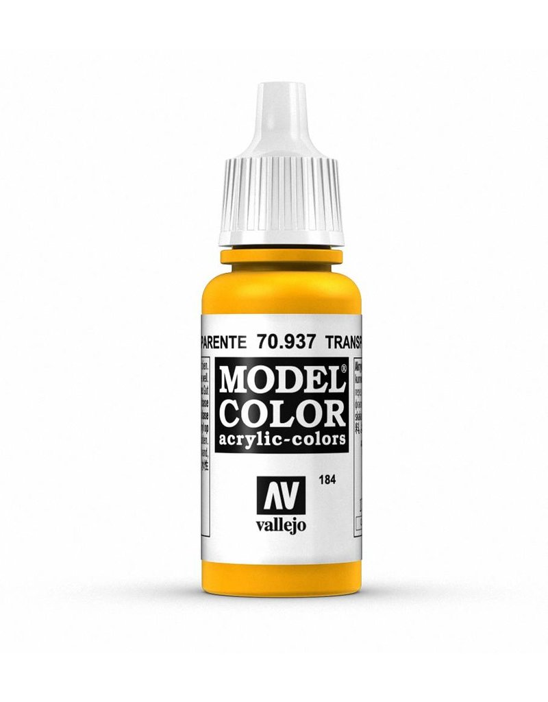 Vallejo Model Color - Transparent Yellow 17ml