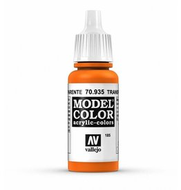 Vallejo Transparent Orange 17ml