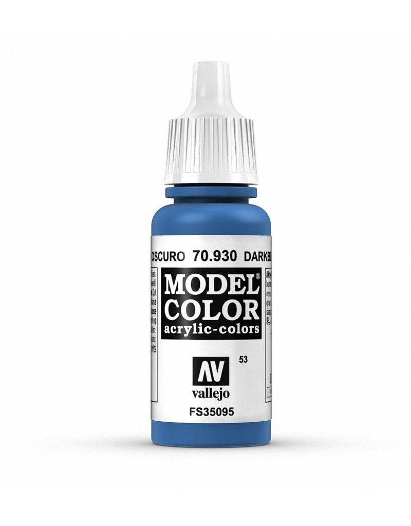 Vallejo Model Color - Dark Blue 17ml