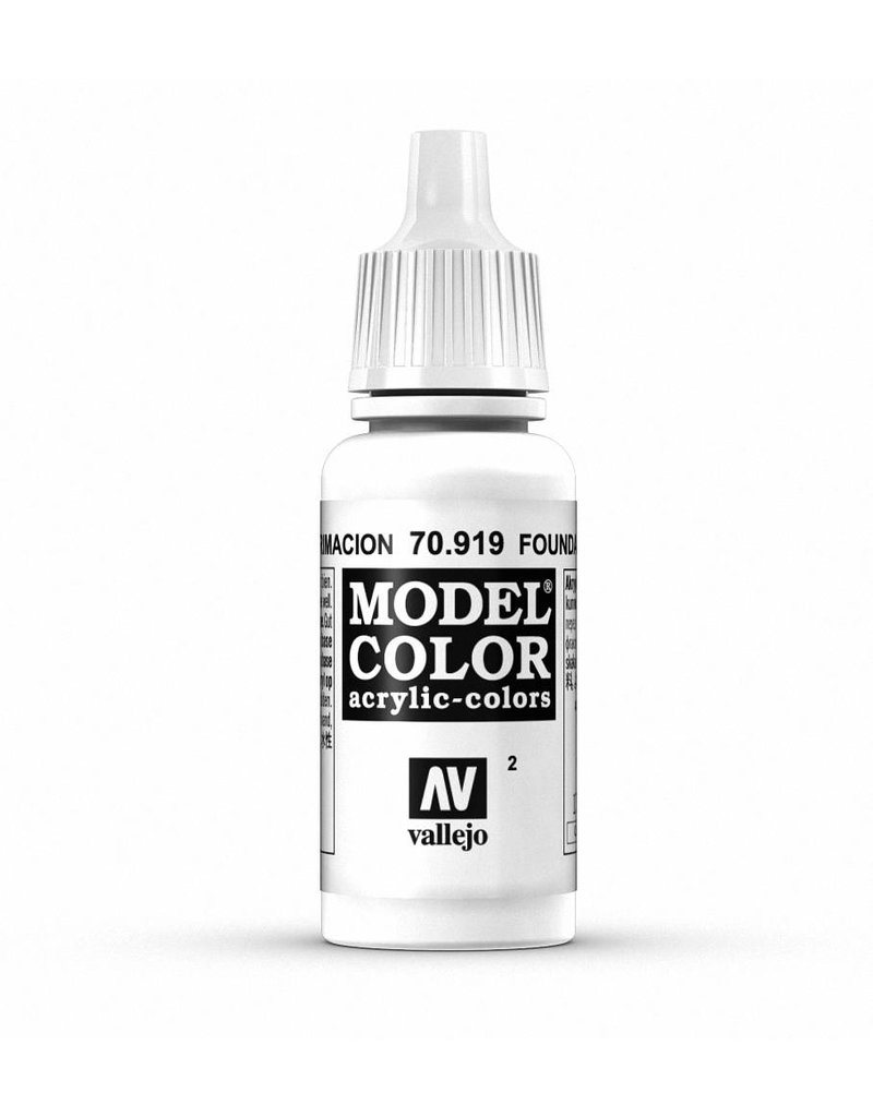 Vallejo Model Color - Foundation White 17ml