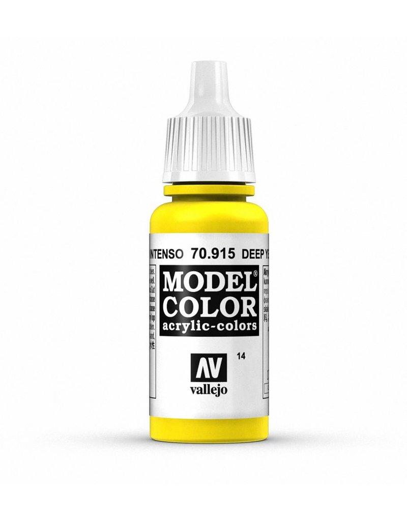 Vallejo Model Color - Deep Yellow 17ml
