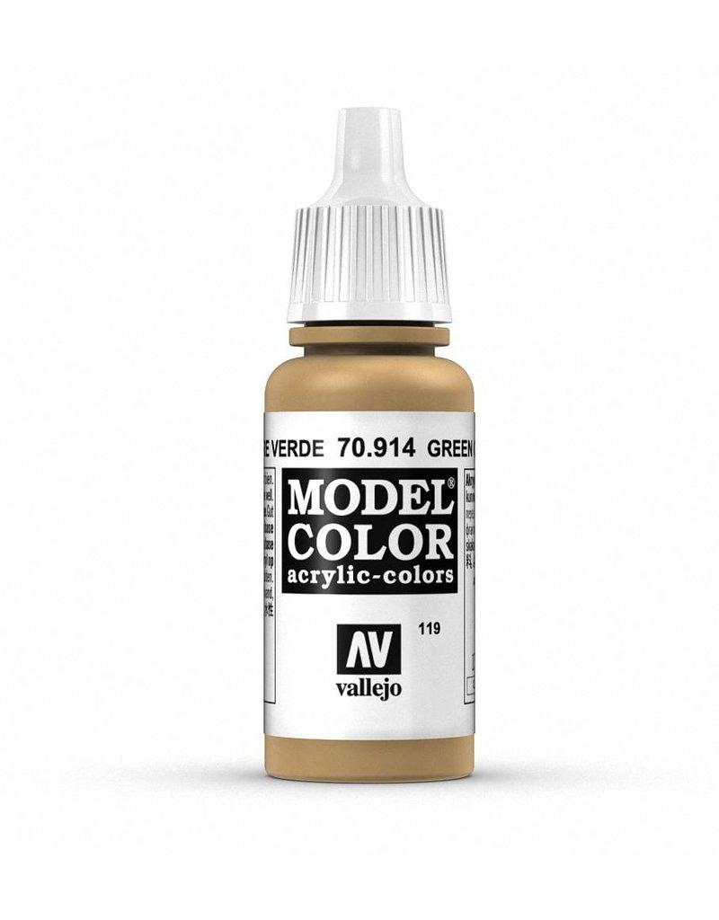 Vallejo Model Color - Green Ochre 17ml