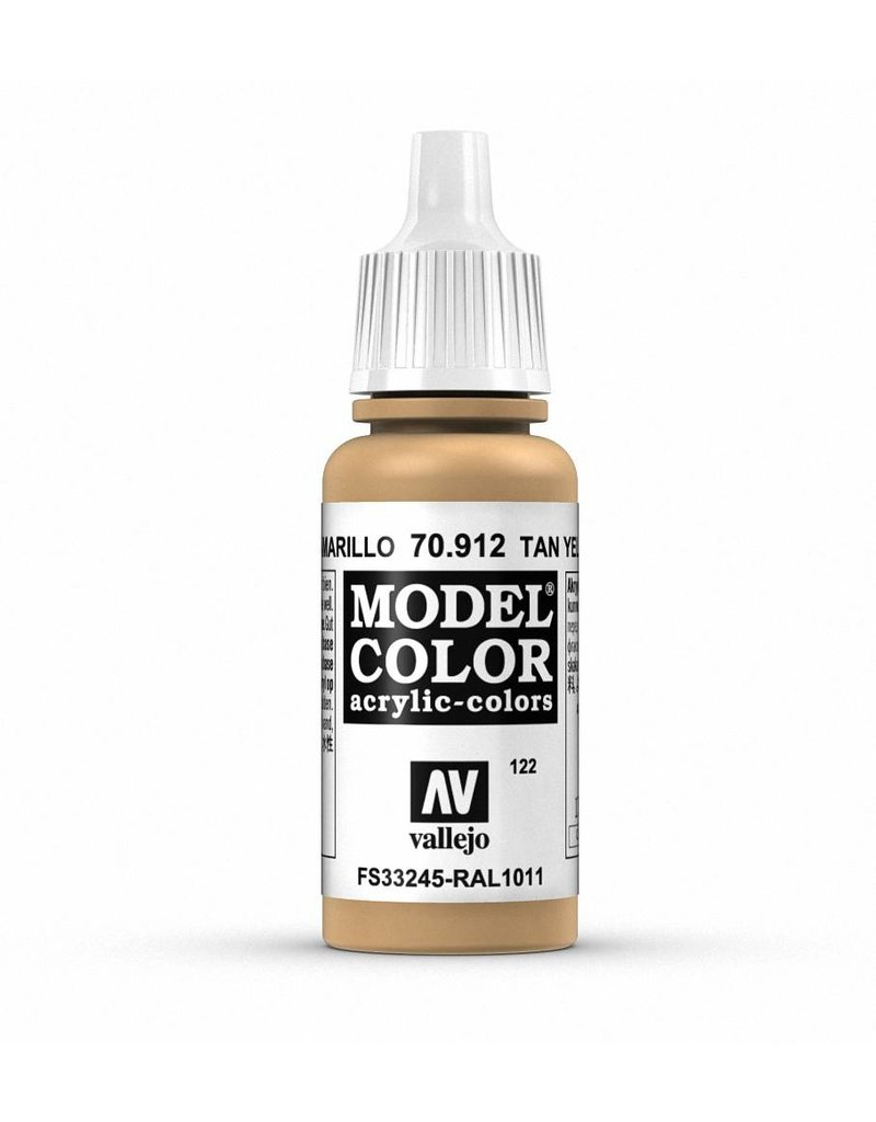 Vallejo Model Color - Tan Yellow 17ml