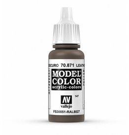 Vallejo Leather Brown 17ml
