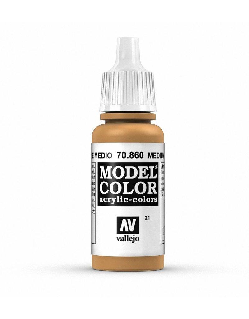 Vallejo Model Color - Medium Fleshtone 17ml