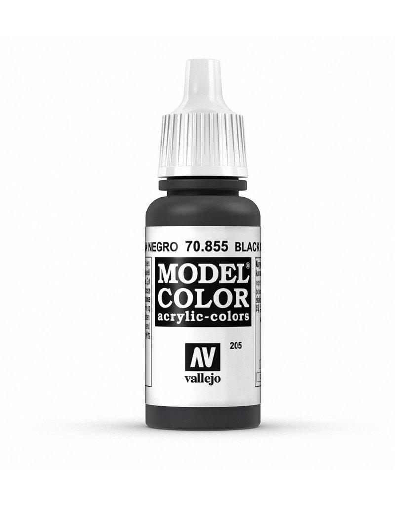 Vallejo Model Color - Black Glaze 17ml