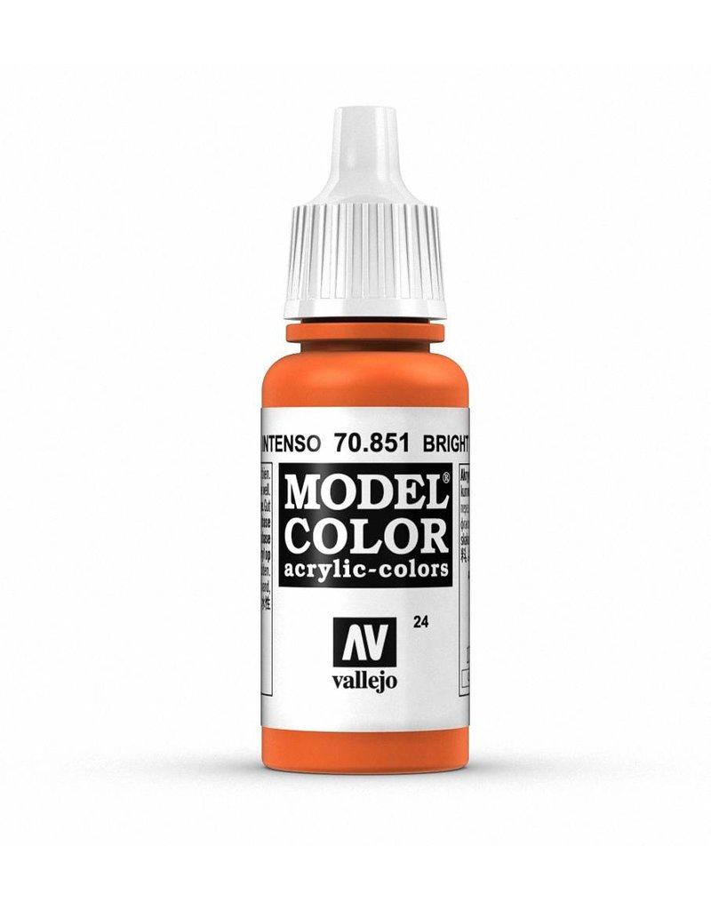 Vallejo Model Color - Bright Orange 17ml