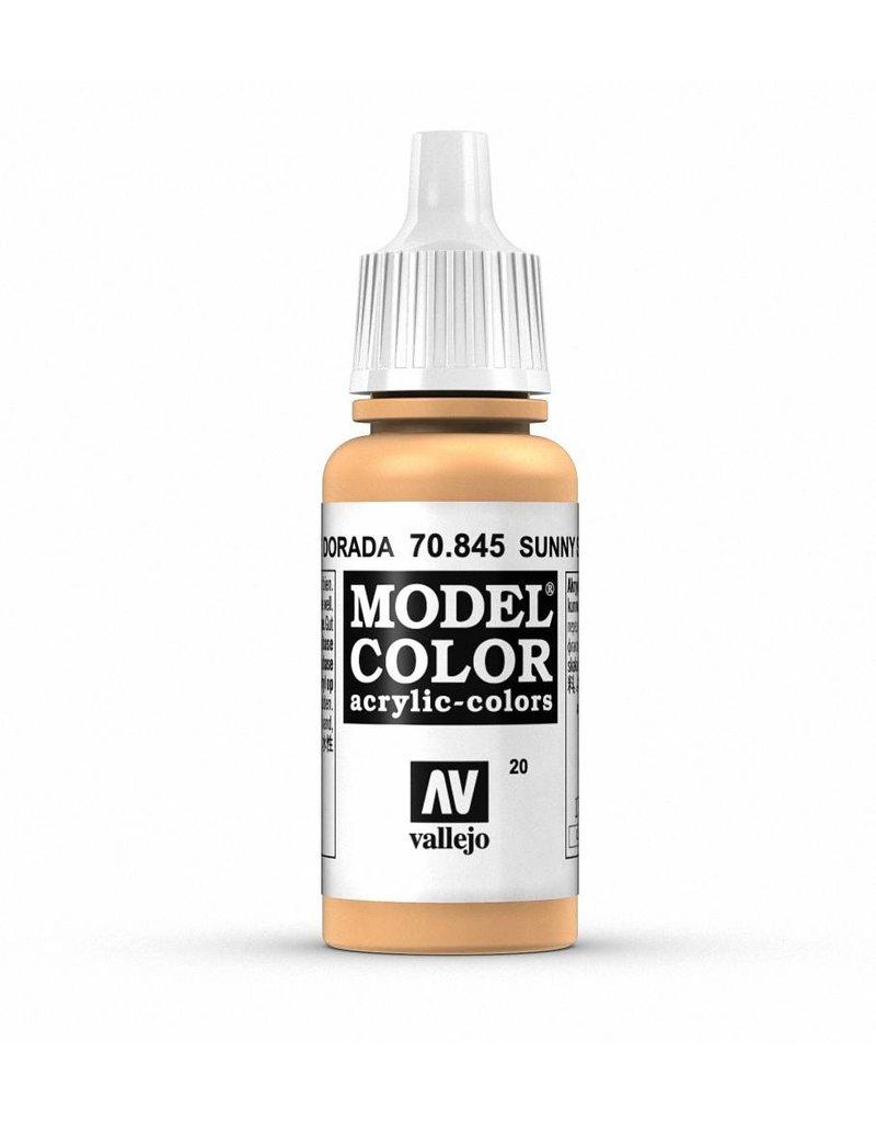 Vallejo Model Color - Sunny Skin Tone 17ml