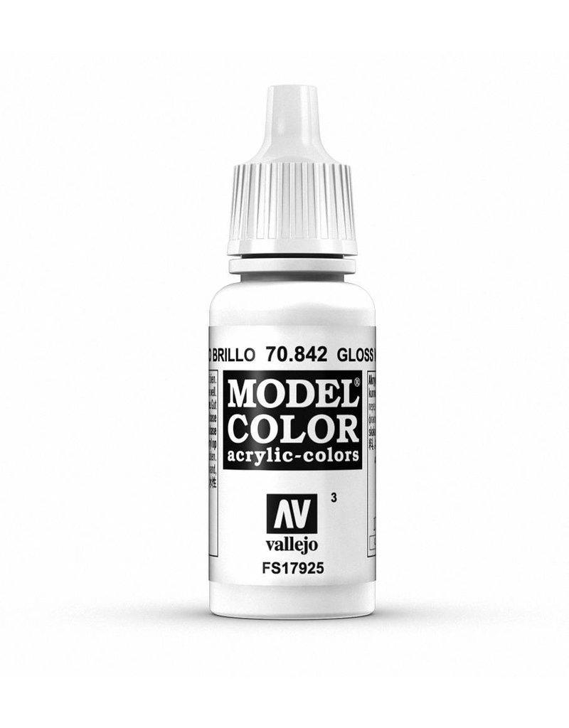 Vallejo Model Color - Gloss White 17ml