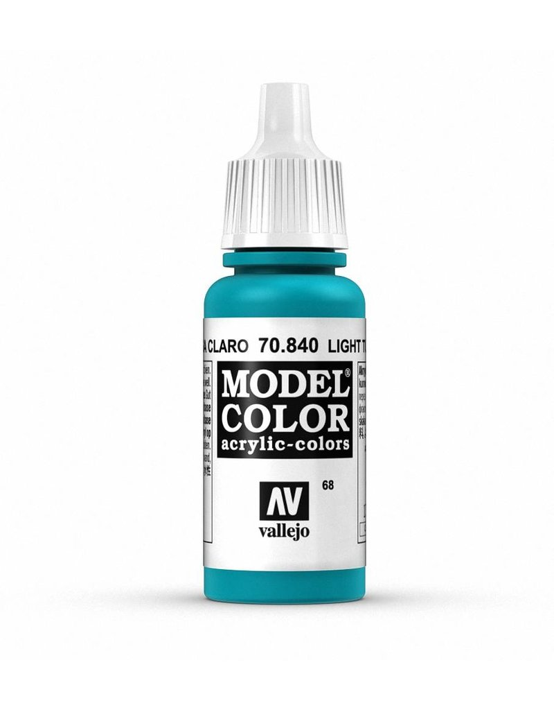 Vallejo Model Color - Light Turquoise 17ml