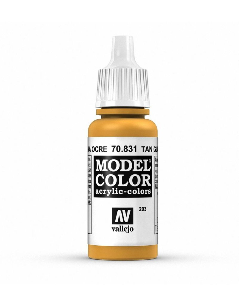 Vallejo Model Color - Tan Glaze 17ml