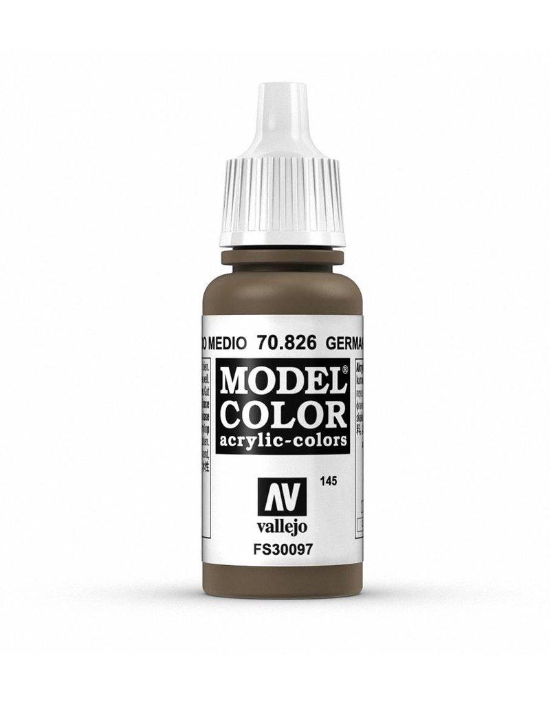 Vallejo Model Color - German Cam Medium Brown 17ml