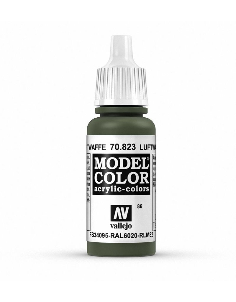 Vallejo Model Color - Luftwaffe Cam Green 17ml