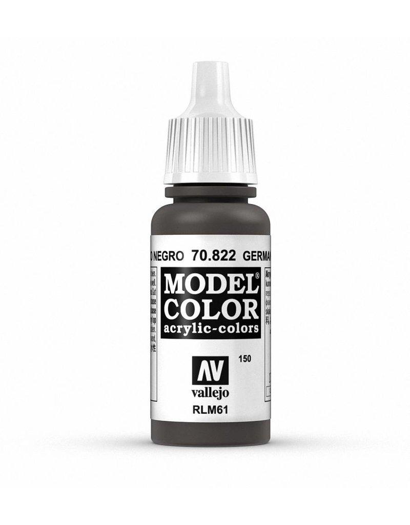 Vallejo Model Color - German Cam Black Brown 17ml