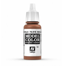 Vallejo Red Leather 17ml