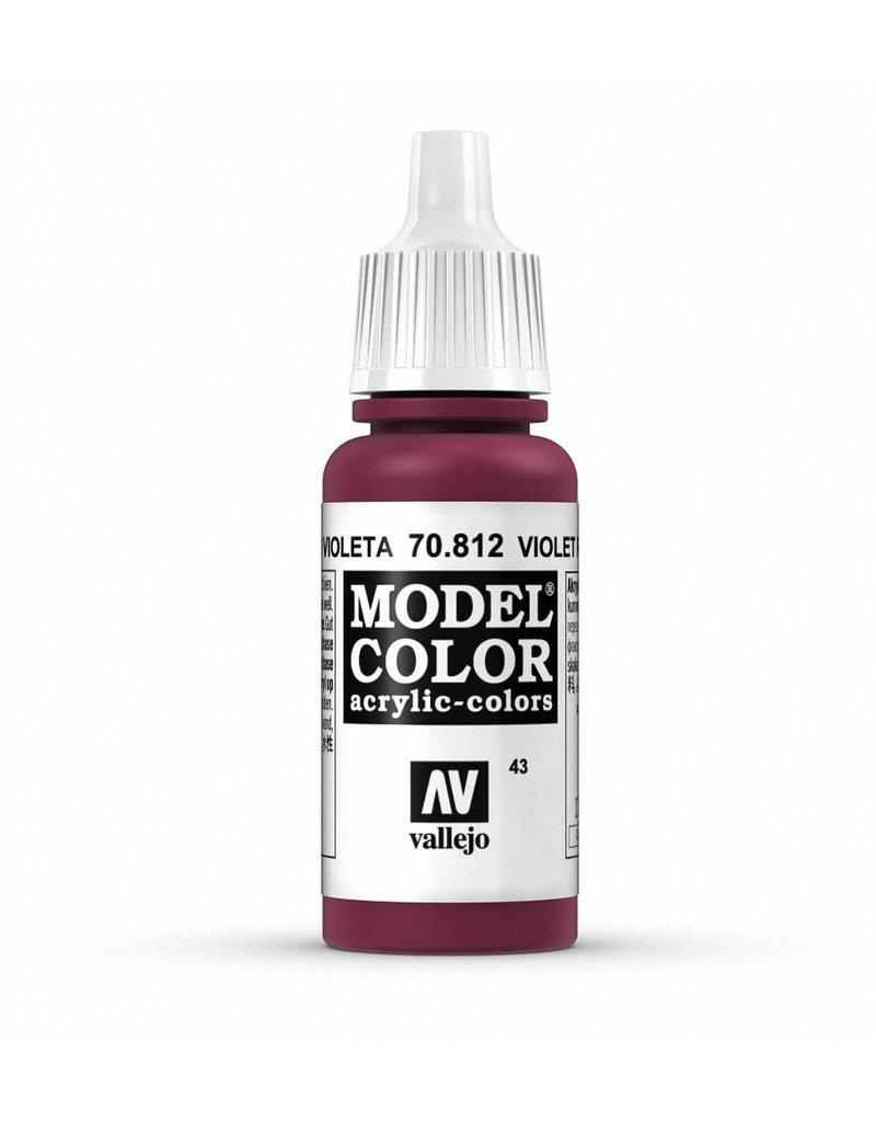 Vallejo Model Color - Violet Red 17ml