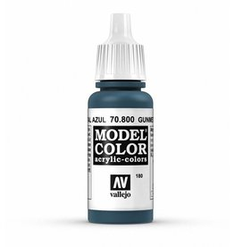 Vallejo Metallic Gunmetal Blue 17ml