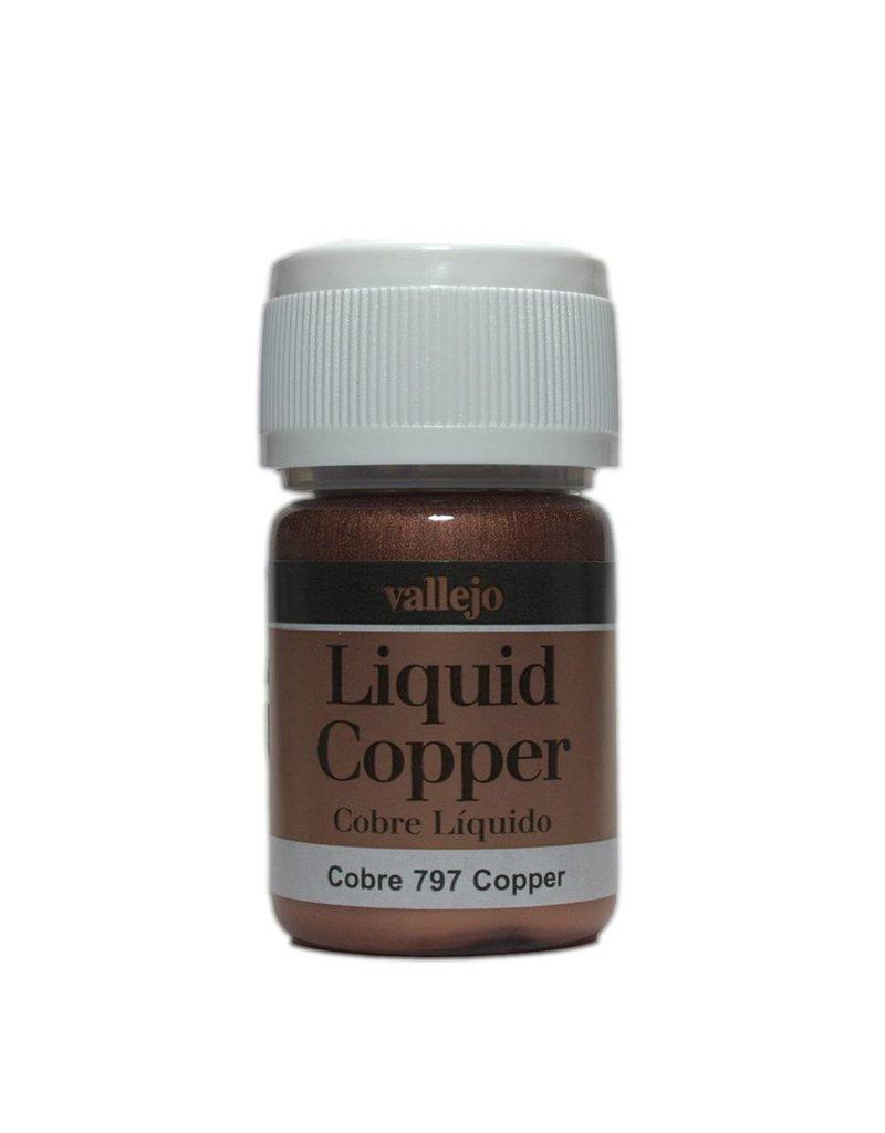 Vallejo Liquid Metallics - Liquid Copper 35ml