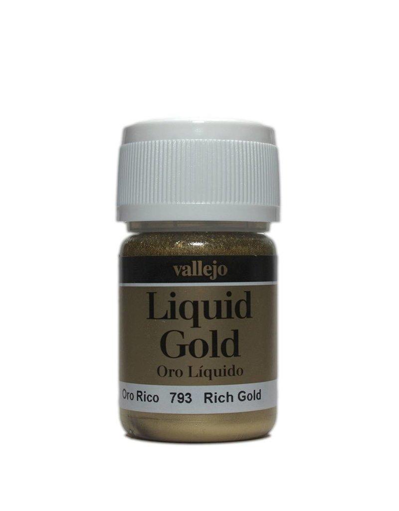 Vallejo Liquid Metallics - Liquid Gold Rich Gold 35ml