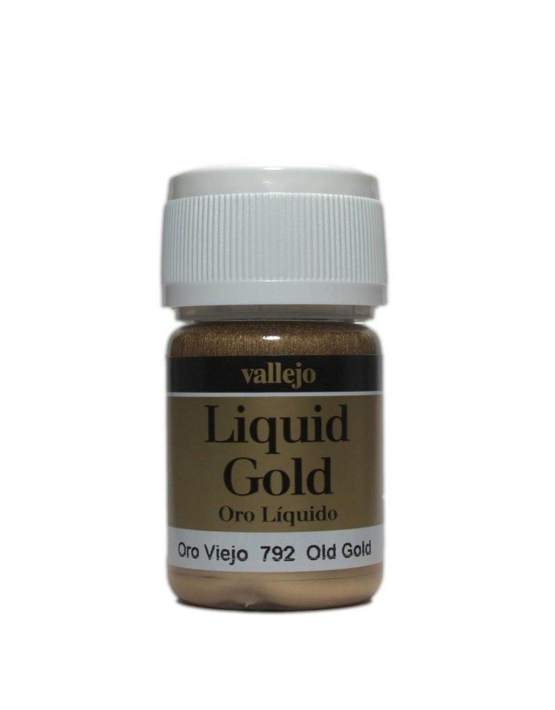 Vallejo Liquid Metallics - Old Gold 35ml