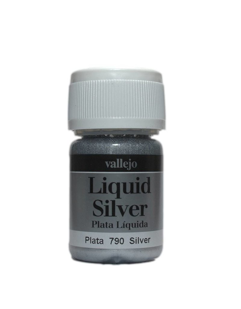Vallejo Liquid Metallics - Liquid Silver 35ml
