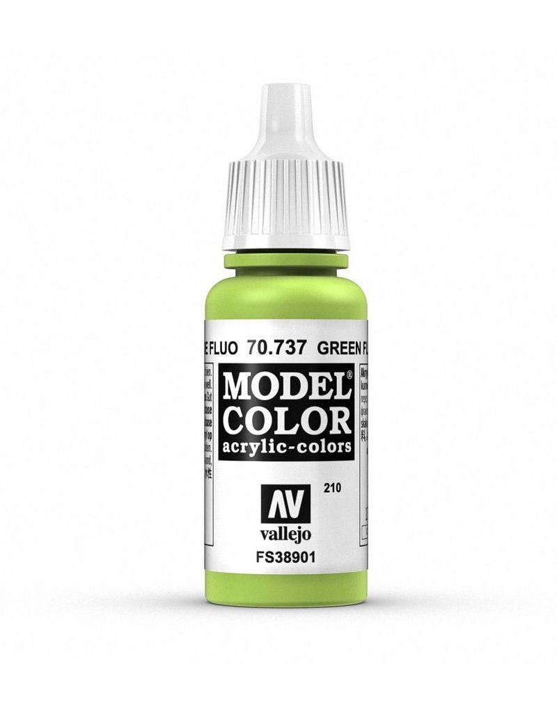 Vallejo Model Color - Fluorescent Green 17ml