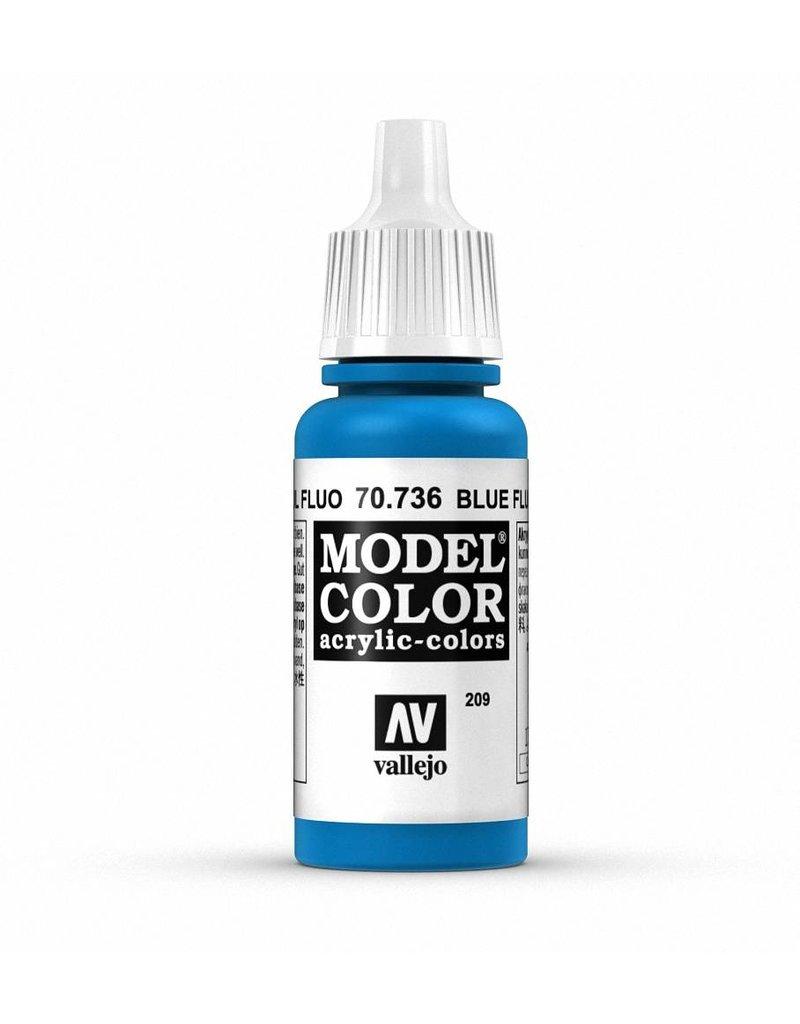 Vallejo Model Color - Fluorescent Blue 17ml