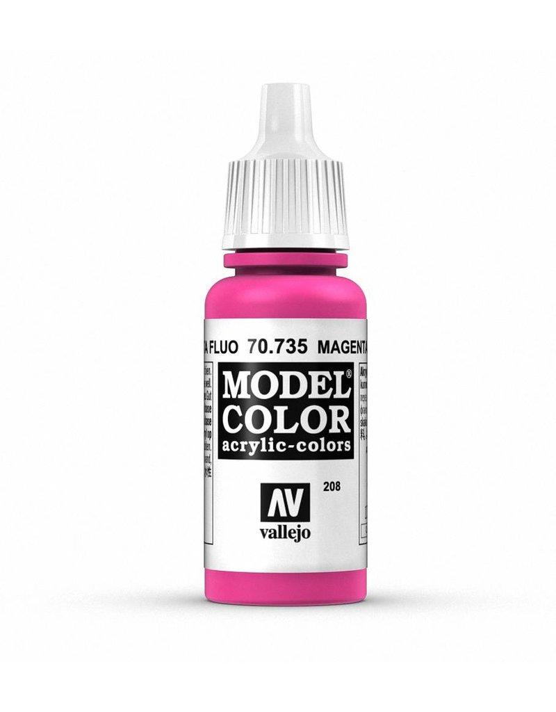 Vallejo Model Color - Fluorescent Magenta 17ml