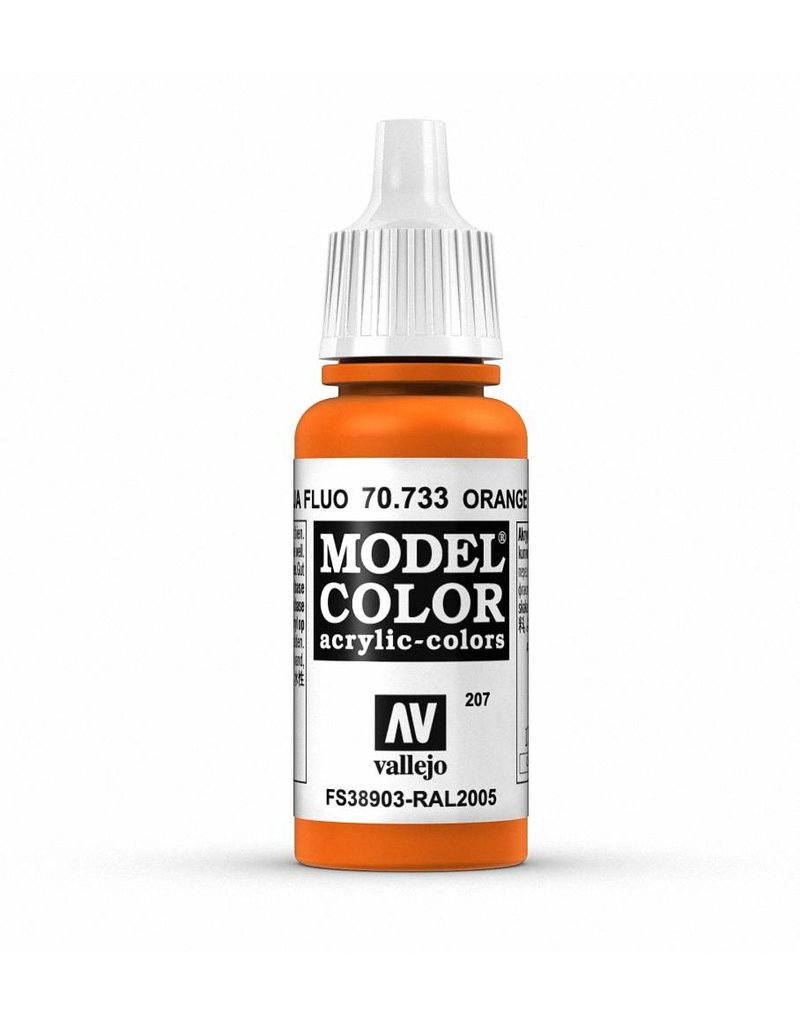 Vallejo Model Color - Fluorescent Orange 17ml