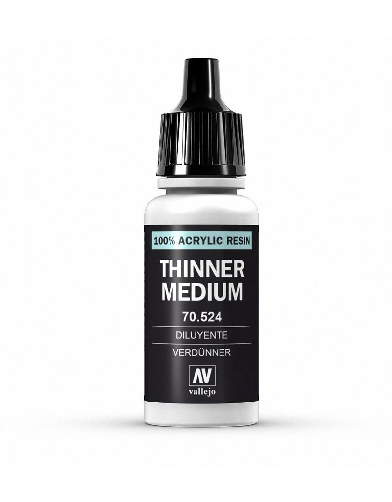 Vallejo Auxiliaries – Thinner 17ml