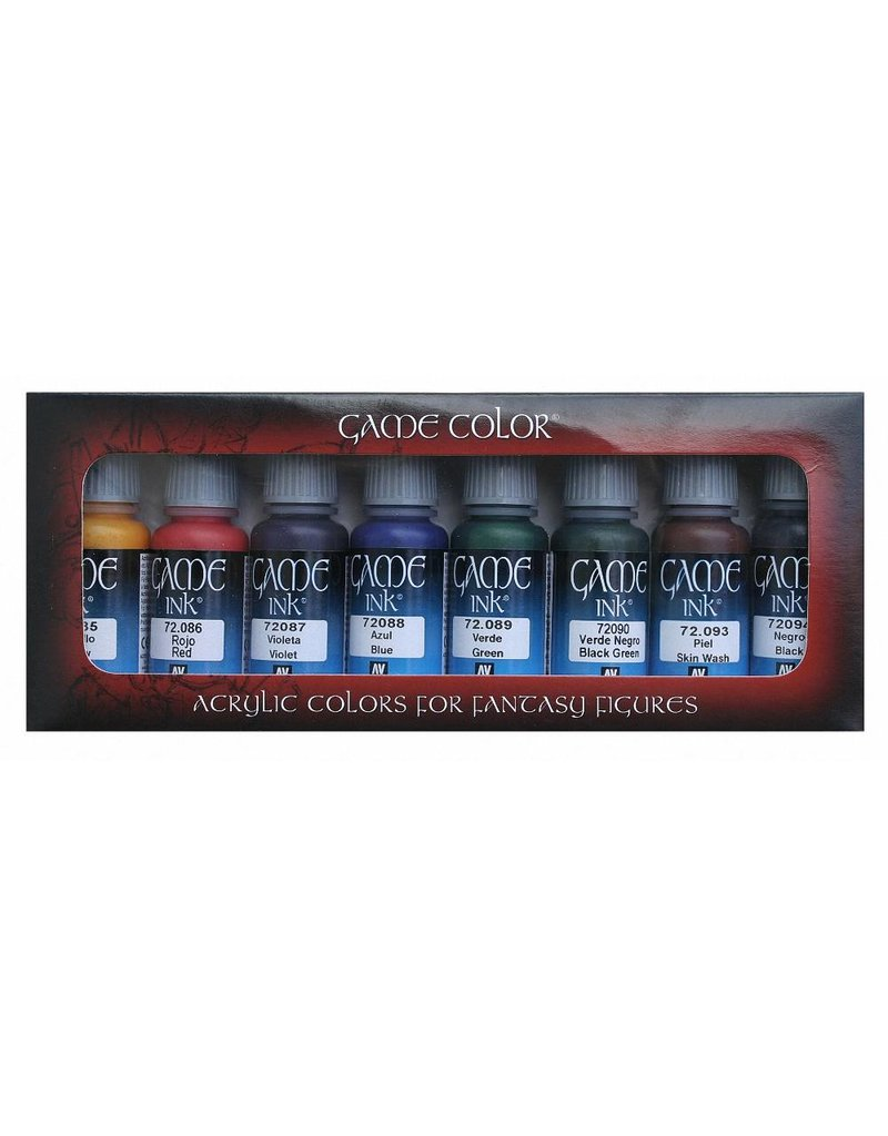 Vallejo AV Vallejo Game Color – Ink Set