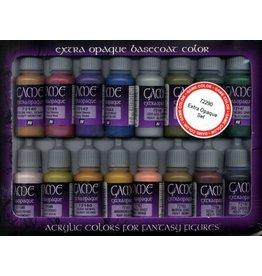 Vallejo AV Vallejo Game Color Set - Extra Opaque (x16)