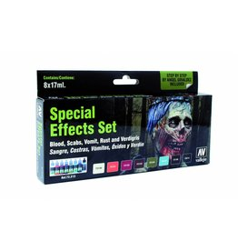Vallejo Game Color Set - Special Effects Set (x8)