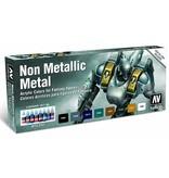 Vallejo Game Color - Non Metallic Metal Set